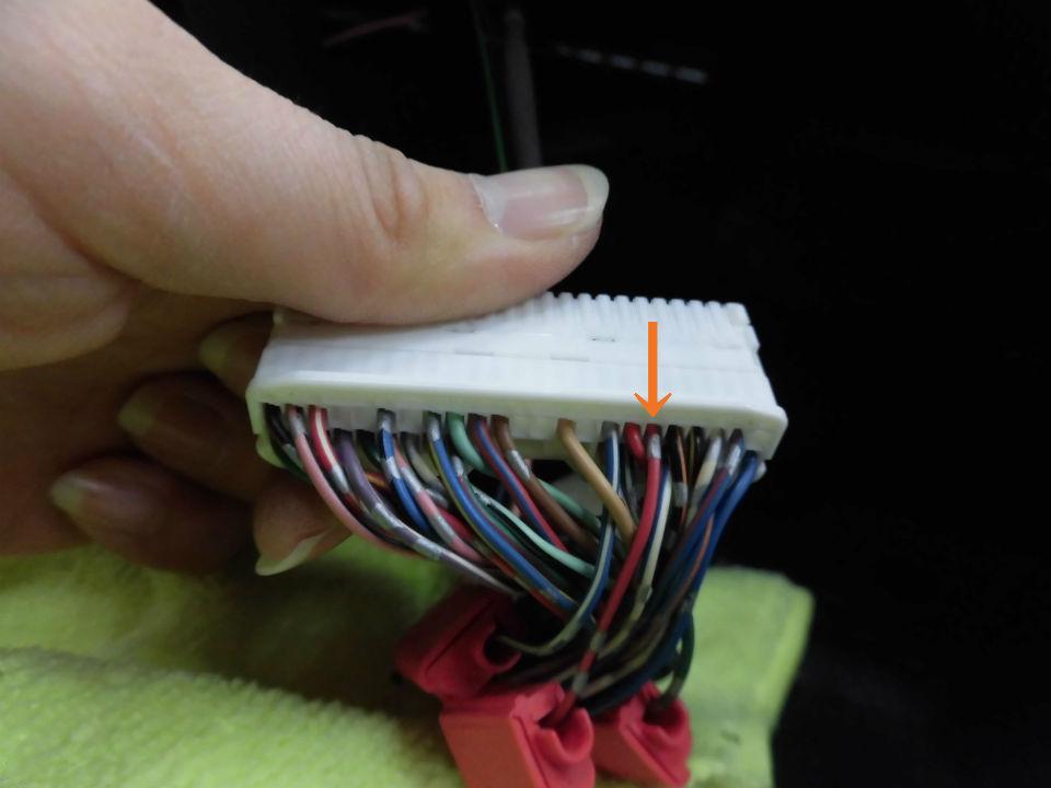 パーキング信号 接続